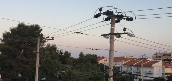 Διακοπή ηλεκτρικού ρεύματος στη περιοχή Ξηροκάμπου Αγίου Νικολάου