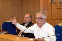 Νικήτας Κακλαμάνης από τη συνεδρίαση της ΚΕΔΚΕ (ΑΠΕ)
