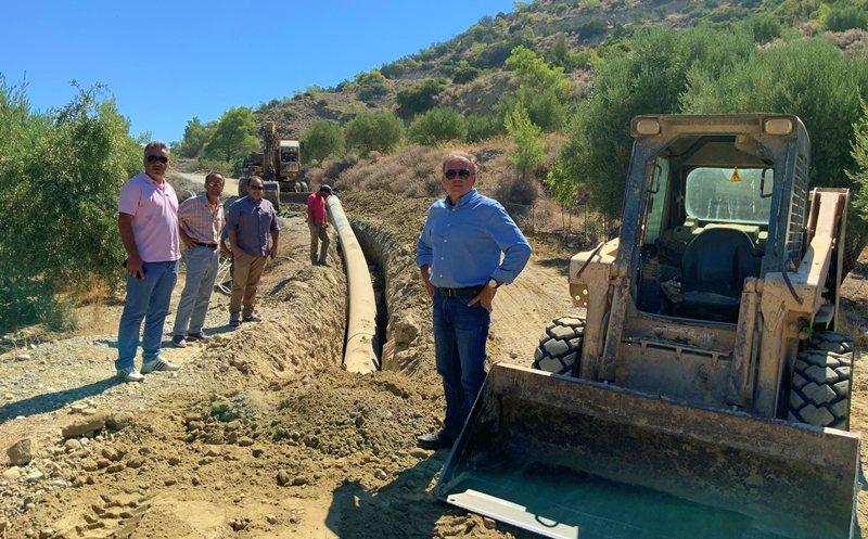 Αντικατάσταση τμήματος εξωτερικού υδραγωγείου Δήμου Ιεράπετρας