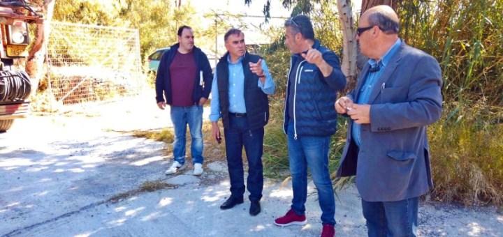 Επίσκεψη του Δημάρχου Ιεράπετρας στην κοινότητα Μύρτου