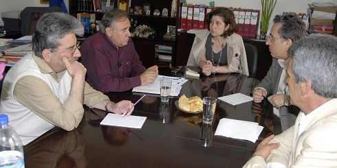 από τη συνάντηση στο δημαρχείο Νεάπολης