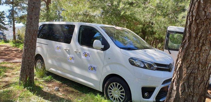 ΠΟΑΝ ευχαριστήριο Kera Tours για παραχώρηση αυτοκινήτου