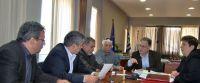 από τη συνάντηση, από αριστερά, Αικατερινάκης, Καρχιμάκης, Λασηθιωτάκης, Βάρδας, Κουνενάκης, Γιαννικάκη