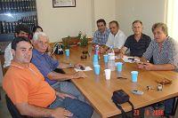 Ο Δ. Κουνενάκης στο Εργατικό Κέντρο Λασιθίου