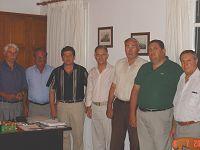Ο Δ. Κουνενάκης με το Τ.Σ. Καλού Χωριού