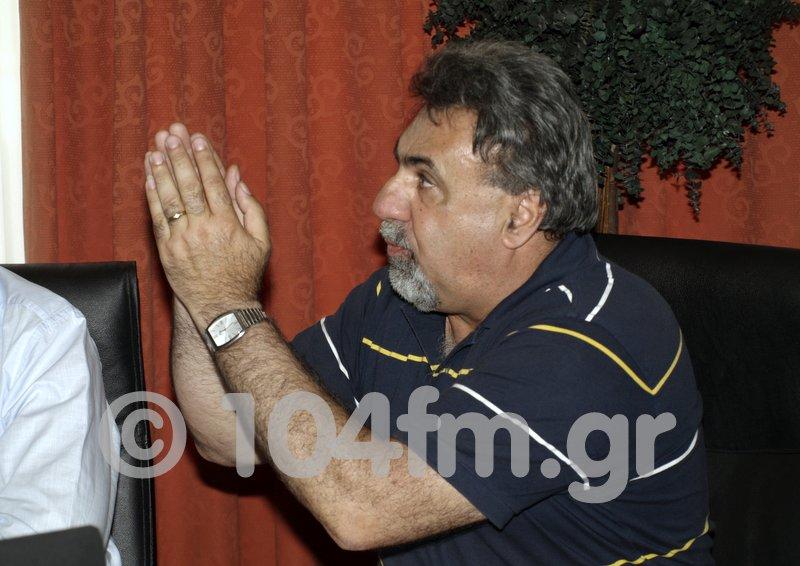 ο πρώην δήμαρχος Σητείας Νίκος Κουρουπάκης