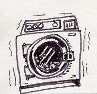 Το καλό το πλυντήριο τ' αλέθει όλα !
