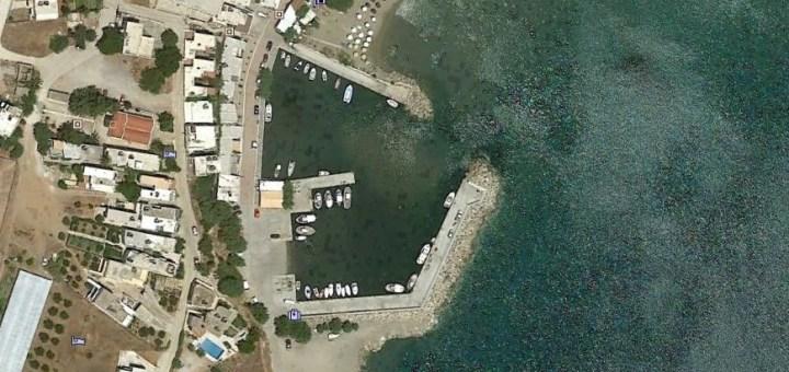αποκατάσταση λειτουργικού βάθους στο αλιευτικό καταφύγιο Μακρύ Γιαλού