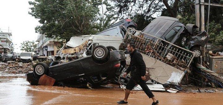 Έκκληση βοήθειας στους πλημμυροπαθείς