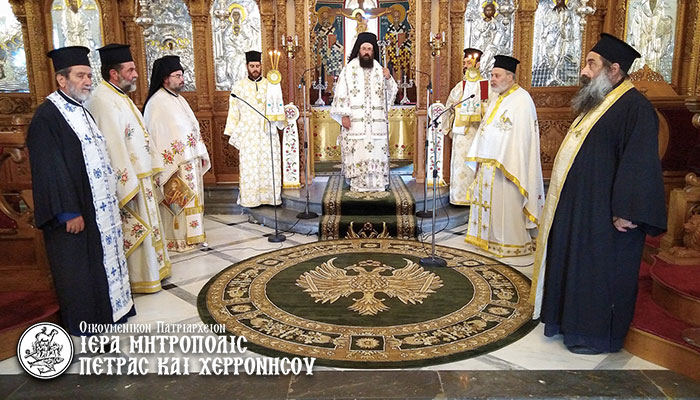 Η Παναγία δέεται και πρεσβεύει μετά παρρησίας για όλους εμάς που θελήσαμε να τιμήσουμε την αθάνατο Κοίμηση Της