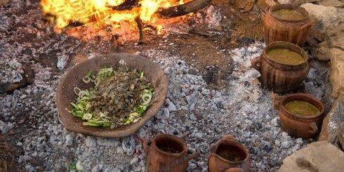 μαγειρεύοντας μινωικά