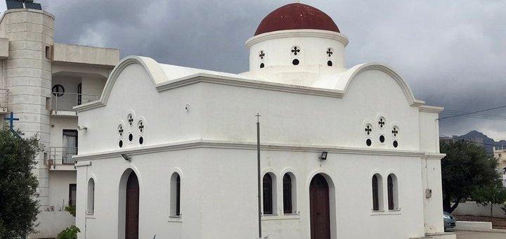 Εγκαίνια ναού οσίου Ιωάννου του Ρώσου στην Ιεράπετρα