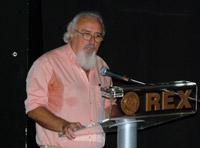 Από την ομιλία στο Rex