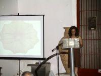από τη τελετή, στο βήμα η κ. Αποστολάκου, δίδοντας λεπτομέρειες για την εποχή των νομισμάτων