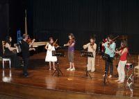 French folk tune, από βιολιά του Ωδείου
