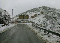 Η Αμπελος, χιονισμένη