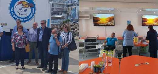 Μεγάλη η ανταπόκριση των πολιτών στη Δράση Εθελοντικής Αιμοδοσίας στην Κρήτη