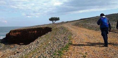 Άγιος Αντώνιος, παράλια Ανωγείων, Bολακόσπηλιος, ρέμα Ανεμαλιάρη