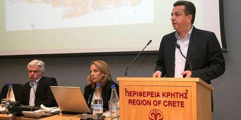 από τη παρουσίαση, Καρούντζος, Μπαζοπούλου, Αρναουτάκης
