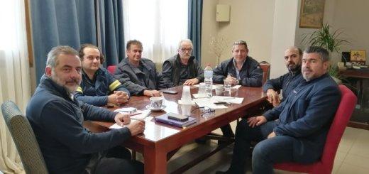 Σύσκεψη για τη πολιτική προστασία στον δήμο Οροπεδίου Λασιθίου