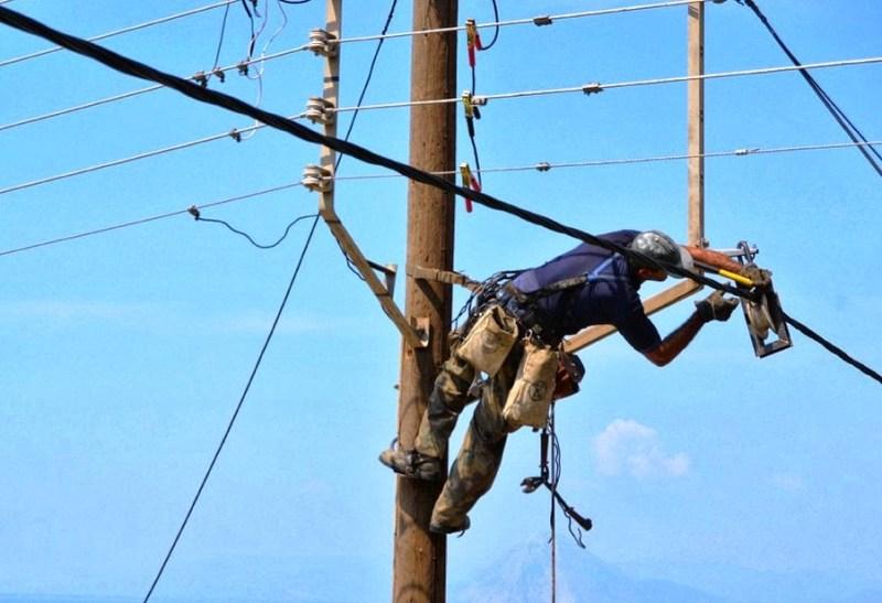 Διακοπή ηλεκτρικού ρεύματος, απάνω Μεραμπέλλο