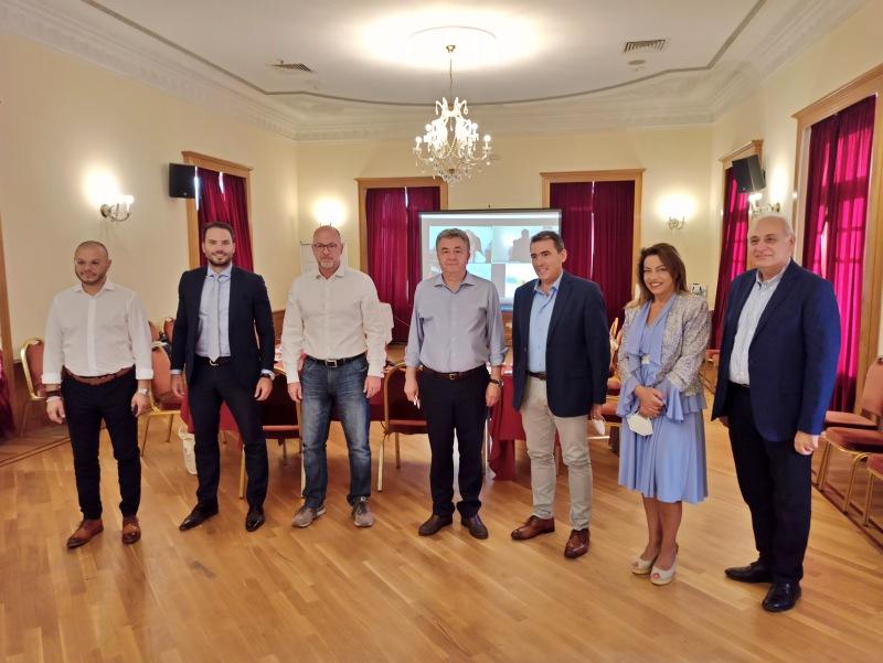 καλωσόρισμα Στ. Αρναουτάκη στην Κρήτη των Προέδρων των Περιφερειακών συμβουλίων της χώρας