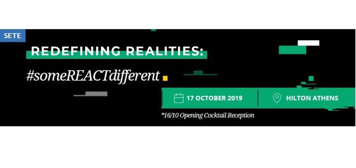 Redefining Realities, #someREACTdifferent, νέες ταξιδιωτικές τάσεις