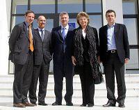 Από πρόσφατη επίσκεψη της κας Reding στον ENISA