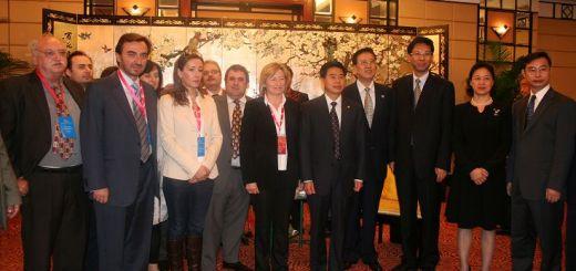 Συνάντηση της αποστολής της Νομαρχίας Ηρακλείου με τον κυβερνήτη της επαρχίας Guangdong