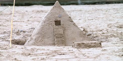 Γλυπτική στην άμμο από το Touch 2009