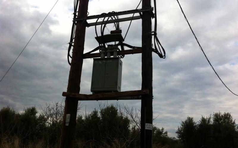 διακοπή ηλεκτρικού ρεύματος στην πόλη του Αγίου Νικολάου