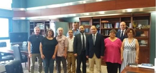 η Ομοσπονδία Τριτέκνων ΟΠΟΤΤΕ με τον Υπουργό Ναυτιλίας και Νησιωτικής Πολιτικής