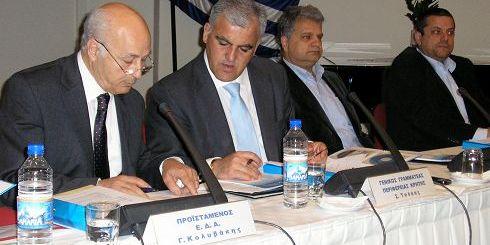ο Γενικός Γραμματέας και το προεδρείο της επιτροπής