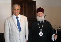 Ο Περιφερειάρχης με τον Πατριάρχη Αλεξανδρείας και πάσης Αφρικής Θεόδωρο