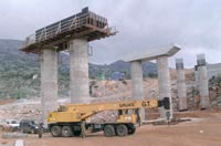 Γέφυρα υπό κατασκευή