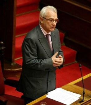 Ο υπουργός αγροτικής ανάπτυξης, Σωτήρης Χατζηγάκης