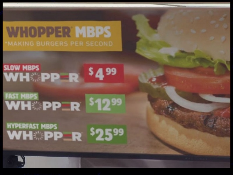 Burger King slams net neutrality repeal in Whopper commercial