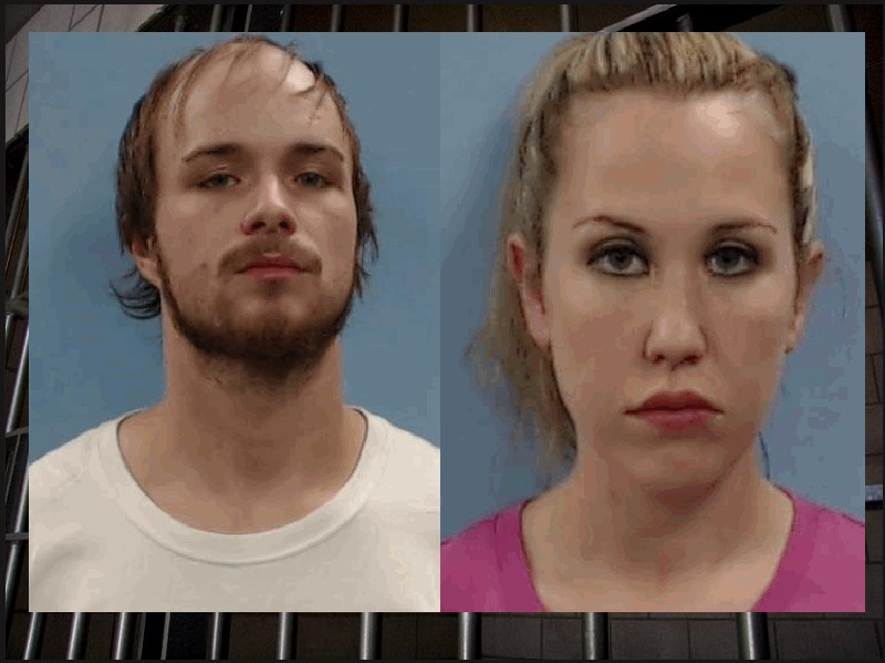 TWO ARRESTED AFTER DRUGS FOUND HIDDEN AT 4-MONTH-OLDS CAR SEAT