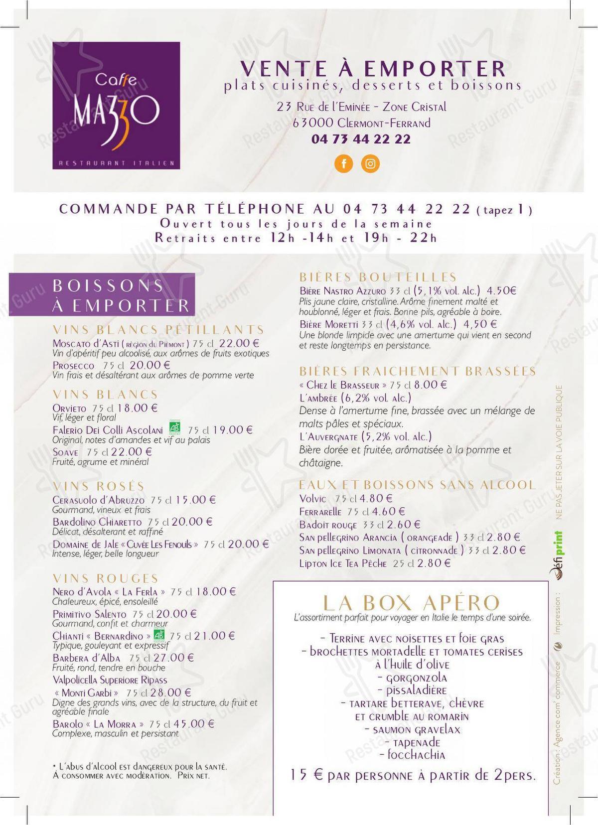 caffe mazzo restaurant clermont