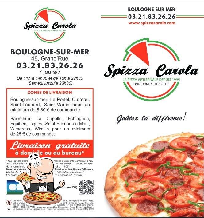 spizza carola pizzeria boulogne sur