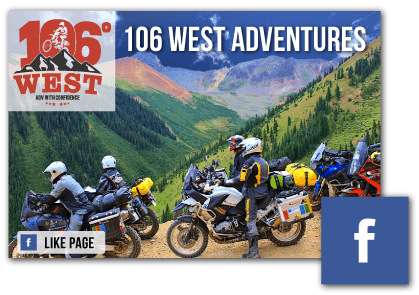 106 West Motorcycle Adventures | Facebook