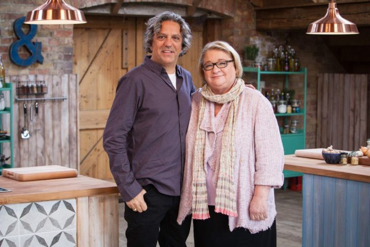 Rosemary Shrager and Giorgio Locatelli.