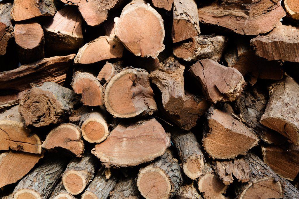Jack's BBQ Woodpile