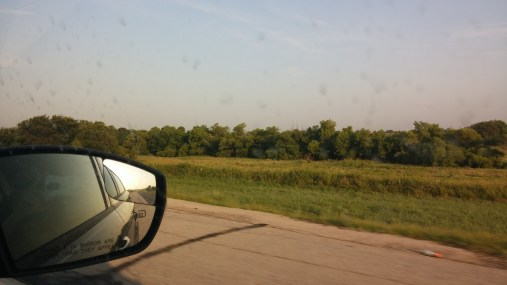 Driving from OKC to Indiahoma, OK