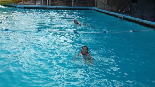 Swimming at White Water Bay