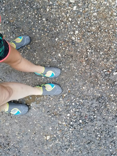 Matching water shoes for Tahlequah