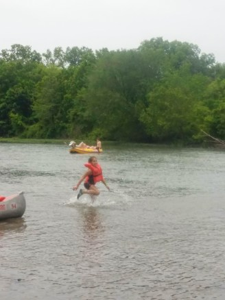 Swimming in the Illinois River