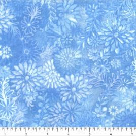 108″ Medium Blue Flower Burst