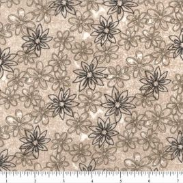 108″ Brown Daisies