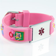 Pink Engraveable Child Bracelet